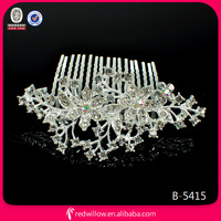 Silver Decorative Bridal Manufactures Of Hair Combs Jewelry Wedding For Bridal