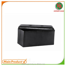 Practical Furniture Black PU Leather Storage Folding Ottoman Chair HY-O1028