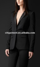 Lapel Tuxedo Jacket for women