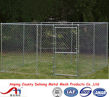 Manufacturer wholesale welded wire mesh large dog cage / dog run kennels / chain link dog runs