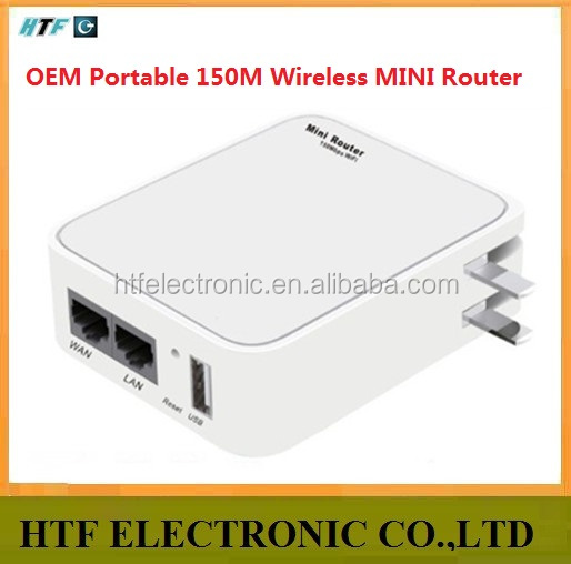 mini design Portable 150M Security MAC address/URL/port based filters NAT wireless 802.11n ap openwrt small wifi router