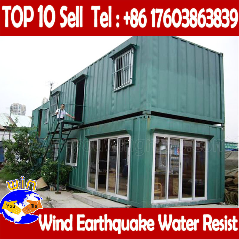 Mobile Folding Prefab Fast Building Container Luxury Homes