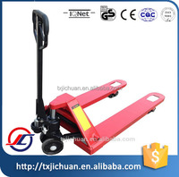 2000/2500/3000/5000kg High Lift Hydraulic Hand Pallet Truck With Rubber Wheel
