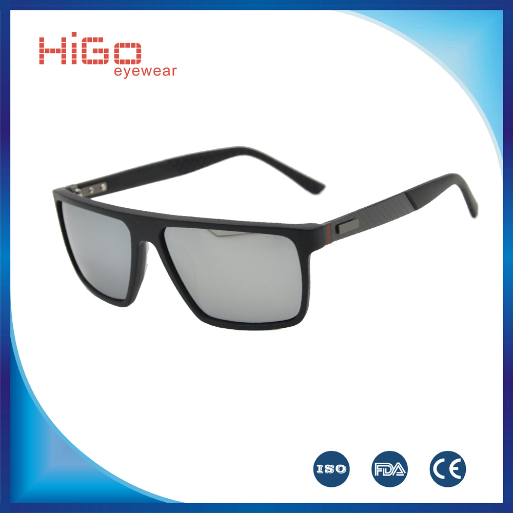 2016 Latest italian brand sunglasses in high quality customs with TR9O and carbon Fiber design