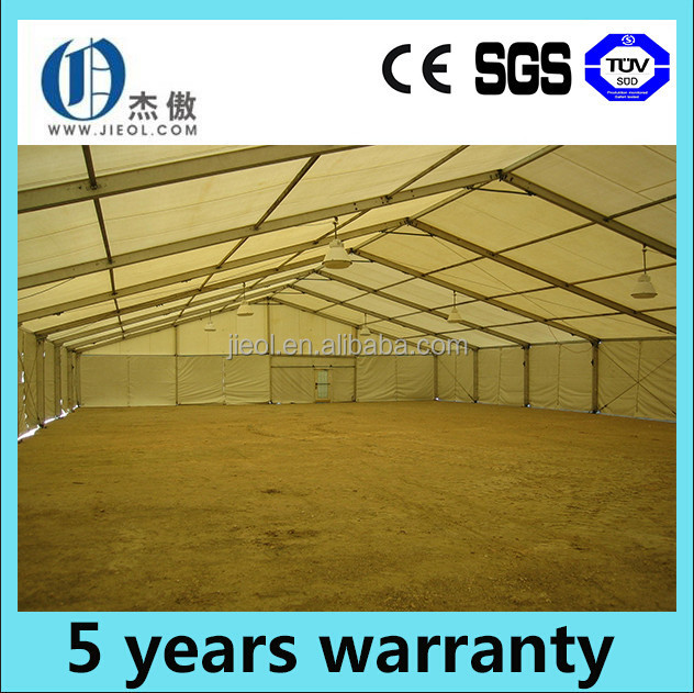 Temporary outdoor aluminum alloy warehouse canopy with a good quality