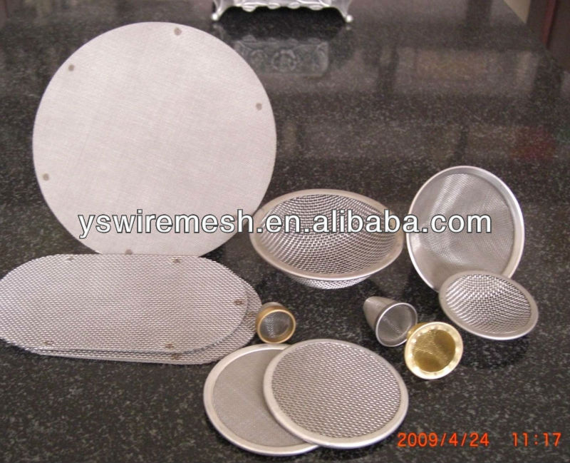 extruded screen mesh for plastic and rubber industrial