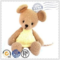 New design cute and lovely custom top quality hot selling free crochet doll patterns