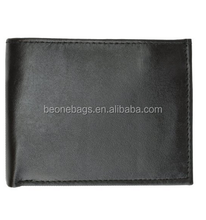 2015 Alibaba China Hot Trend Men's Genuine Leather Multi Pocket Wallet