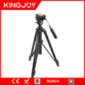 Kingjoy VT-2000 professional 3 section stable video camera tripod for studio