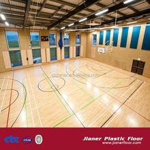 Indoor Multi-purpose Roll Vinyl PVC Sports Flooring for School Gym Basketball court