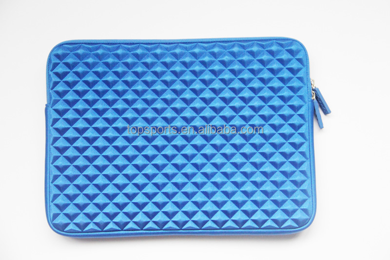 Laptop Bags Briefcase Wholesale with high quality neoprene laptop sleeve with embossing