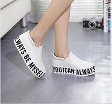 New thick sponge lady shoe hot sale women brand shoes