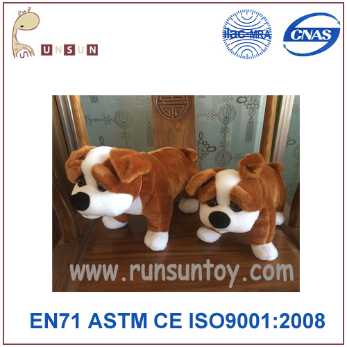 High quality plush animals toys dog & Custom plush toys factory dog toy