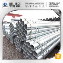 THIN WALL GALVANIZED STEEL PIPE IN 6 INCH