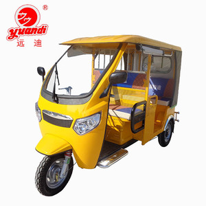 2018 New Three Wheel Convertible Passenger Taxi Adult Electric Tricycle
