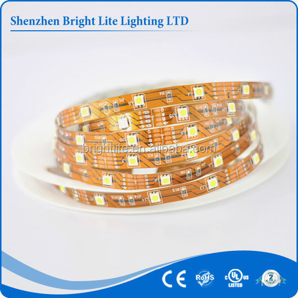 Alibaba low price DC12V 30led Nonwaterproof 5050 led strip 5050 rgb
