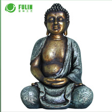Resin meditating large Buddhas Statues for sale