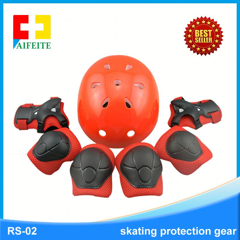 Hot selling skate knee protection for kids Kids cycling plastic skating knee pads