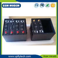 Factory Price RS232 Serial 4 Port SIM300 GSM/GPRS Modem with Sending and Receiving Bulk SMS