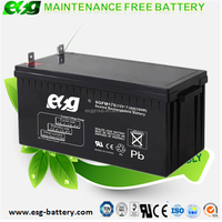 Free Maintenance Type 12v SLA VRLA Deep Cycle Solar PV UPS battery 12V 170AH