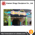 Outdoor Customized signboard Theme Park Gate