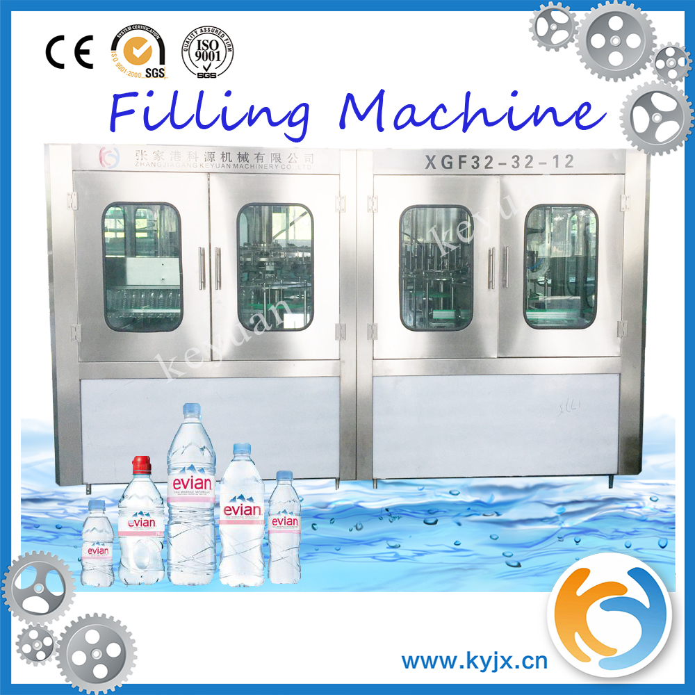 Complete Automatic Bottle Mineral Water Filling Production Line For Sale