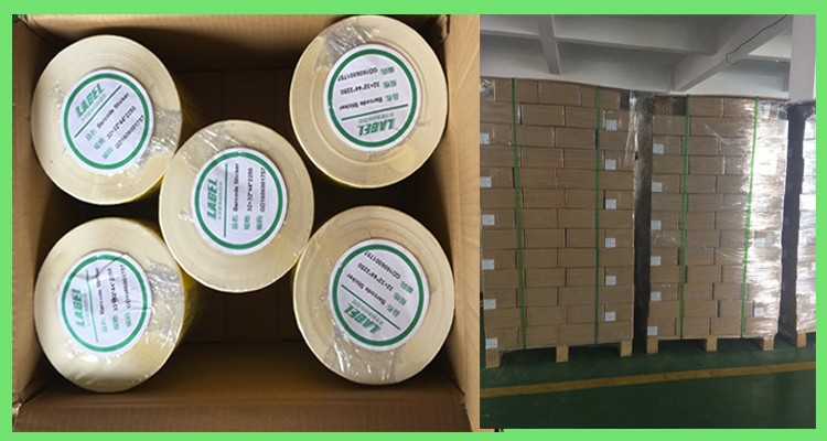 glossy paper customer printed labels