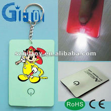 led business card light