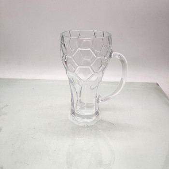 14 oz football beer glass customized glass for customer