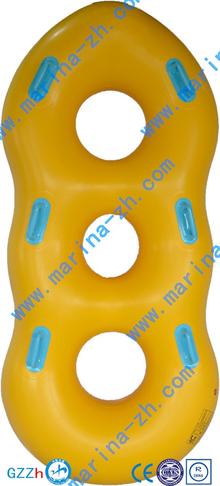 Logo Printed Bestselling round inflatable raft boat EN71 approved