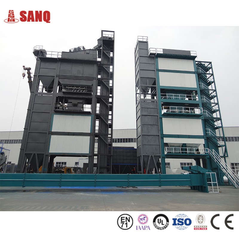 Hot Batch Mix Asphalt Mixing Plant Machine For Asphalt Station