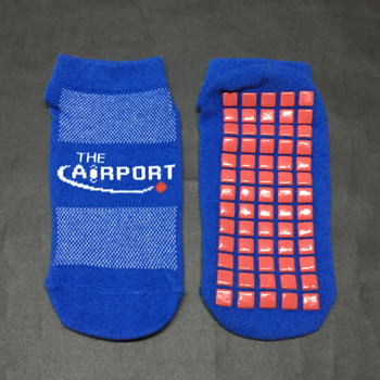 Silicone rubber dotted trampoline socks
