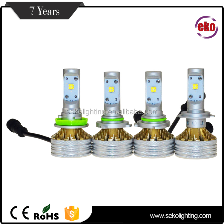 12V Ce Rohs Car Auto Light 4800 Lm 36W H4 H7 H8 H10 H11 H16 9005 9006 9012 D2S Led Headlight Bulb