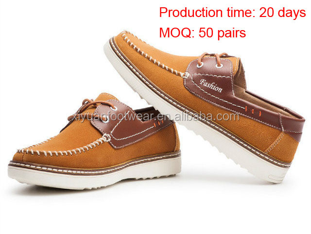 Profit Shoes Fashion Summer Men Loafer Shoes With Cow Suede Upper