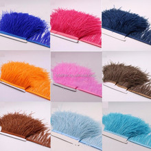 Carnival costumes ostrich feather fringe trim