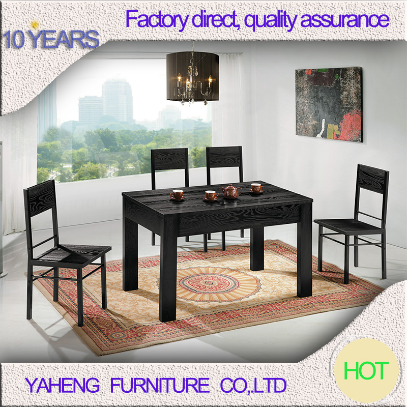 wooden dinning table set modern dining room long narrow table