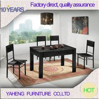 Wooden Dinning Table Set Modern Dining