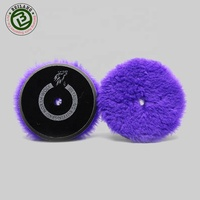 Korea Car Care Auto Detailing Buffing Wool Polishing Pad