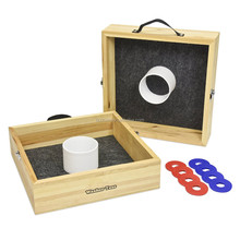 wooden washer toss game garden game with high quality ,educational toys