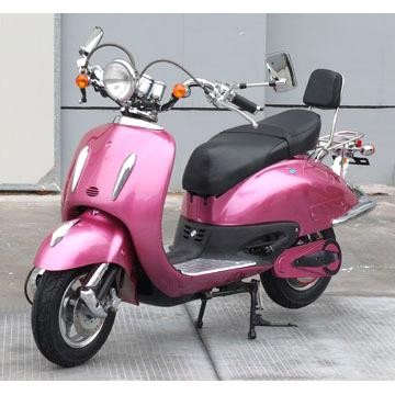 Competitive price china 4 stroke pink vespa scooter for adults