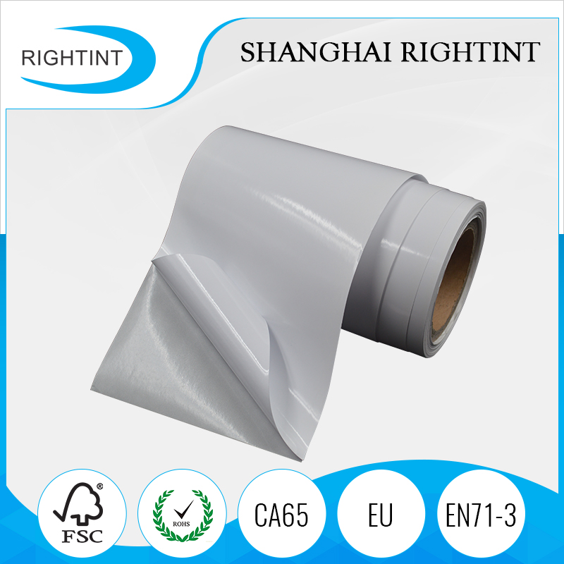 Alibaba 8 years gold supplier cast coated self adhesive paper roll