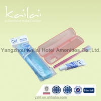 cheap hotel Toothbrush kit disposable toothbrush kit with toothpaste disposable dental instruments kit