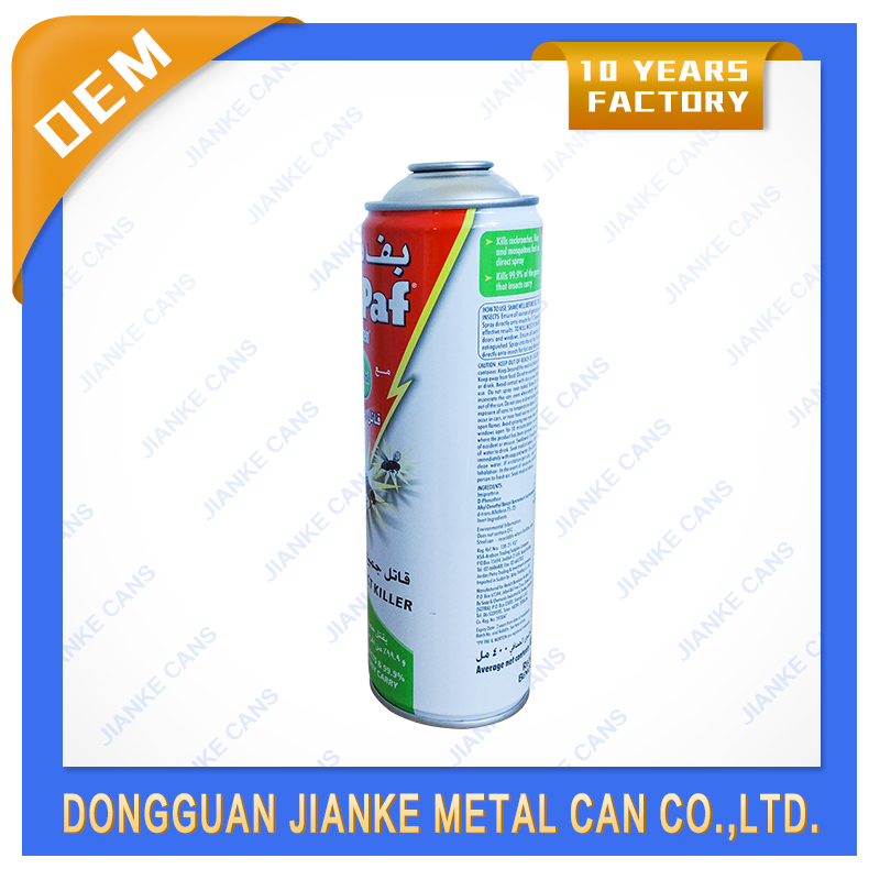 aerosol spray paint tin can, Insecticide spray can, tinplate perfume spray can