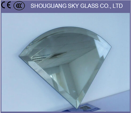 2mm-6mm Black Glass Mirror, Smoke Glass Mirrors, Concave Glass Mirror