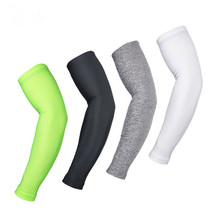ARSUXEO Unisex Outdoor Sports Arm Warmer Sleeves Manguito UV Protective Bike Bicycle Cycling Oversleeve UV Arm Sleeve