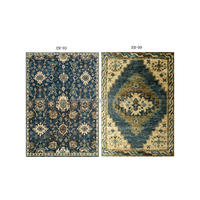 Home decorative hand made natural wool carpets