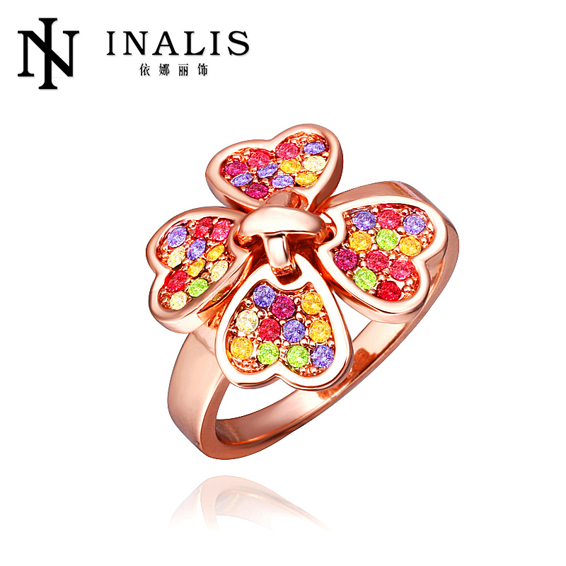 Lekani latest product colorful stone foot finger ring R274