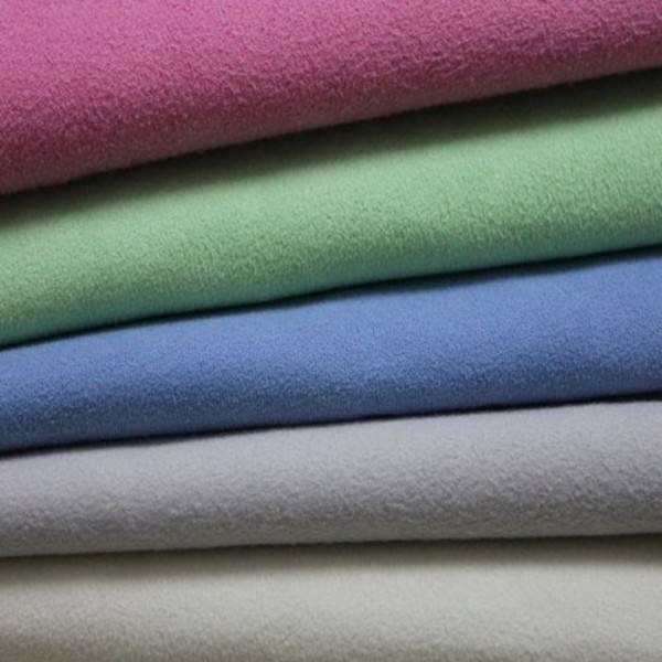 80 <strong>polyester</strong> 20 polyamide material two side brushed microfiber fabric for towel