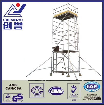 High Quality Mobile Tower Aluminum Scaffolding for Construction