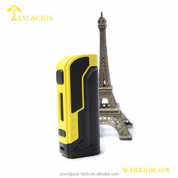 the newest tesla vape mod is coming to be the most popular product teslacigs warrior 85w